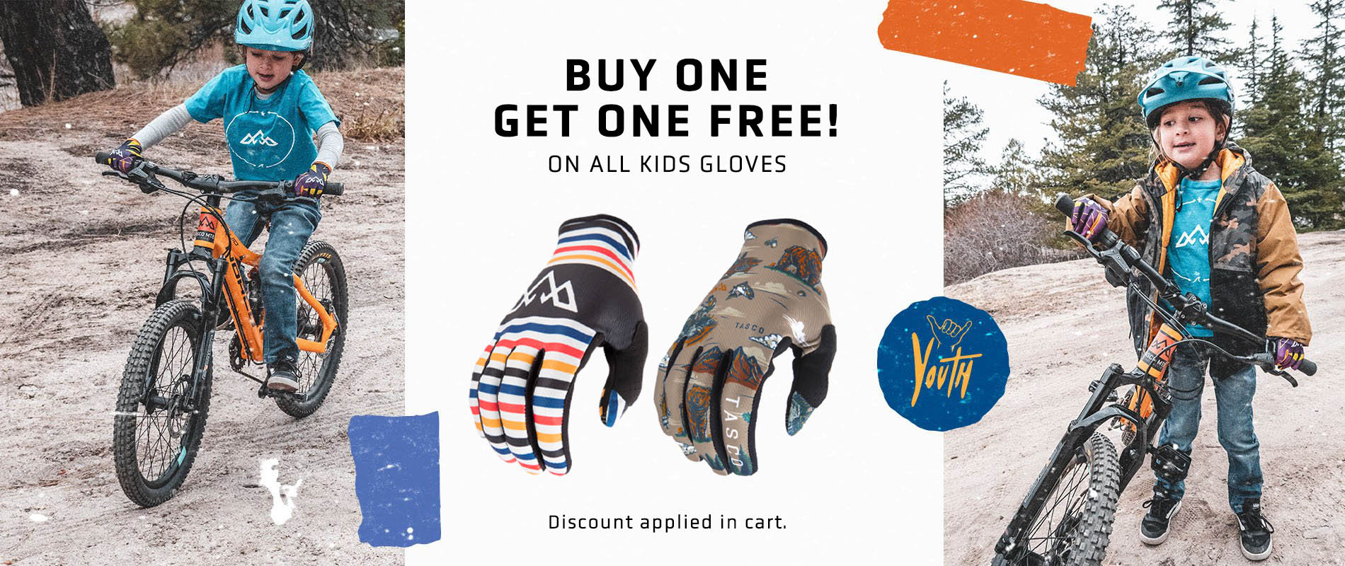 Kids Gloves - Buy One Get One Free!