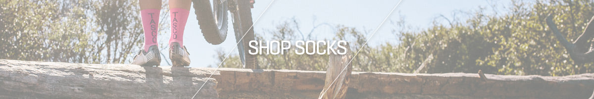 TASCO WOMENS CYCLING SOCKS CATEGORY HEADER