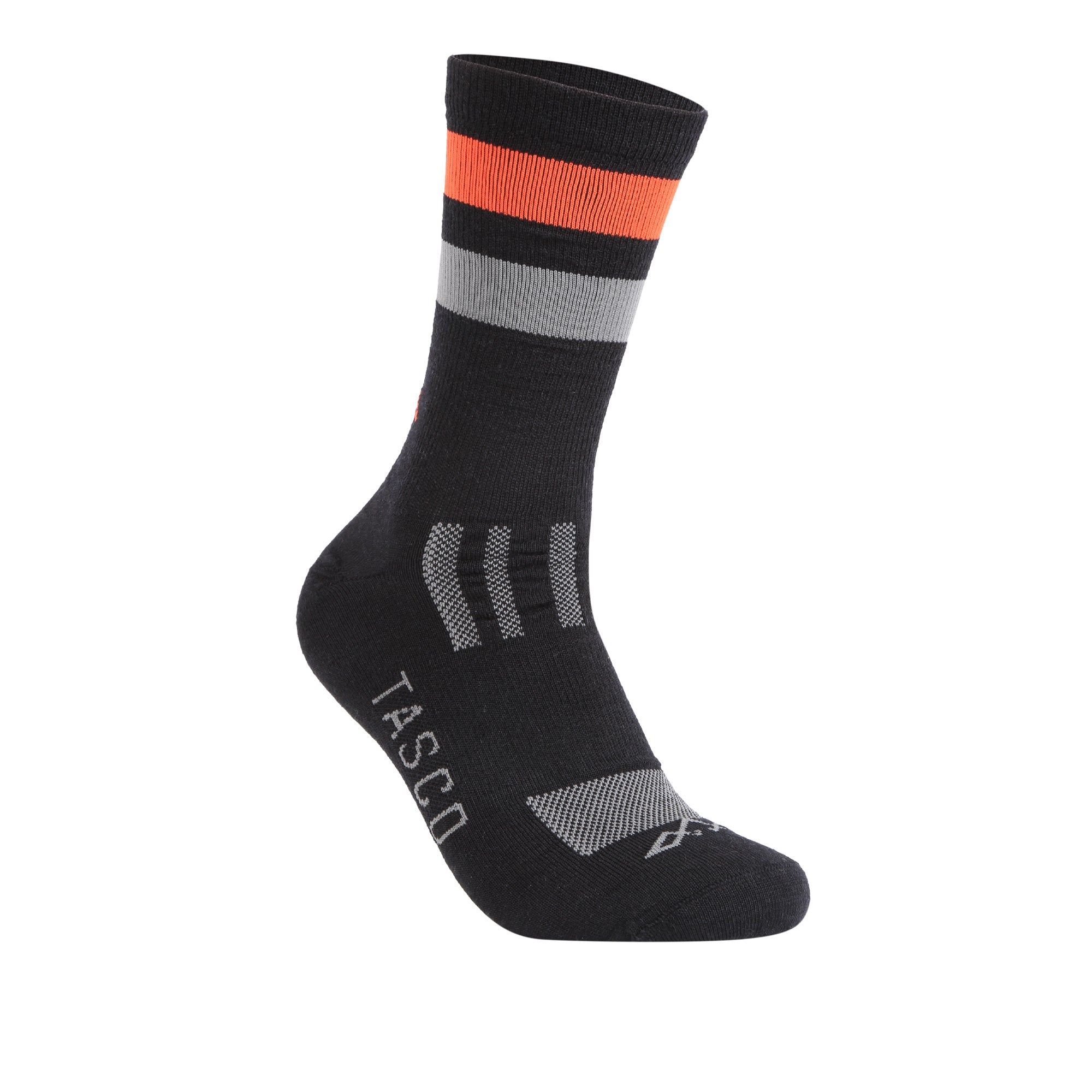 Dawn Patrol Merino Wool Classic - Black / Orange