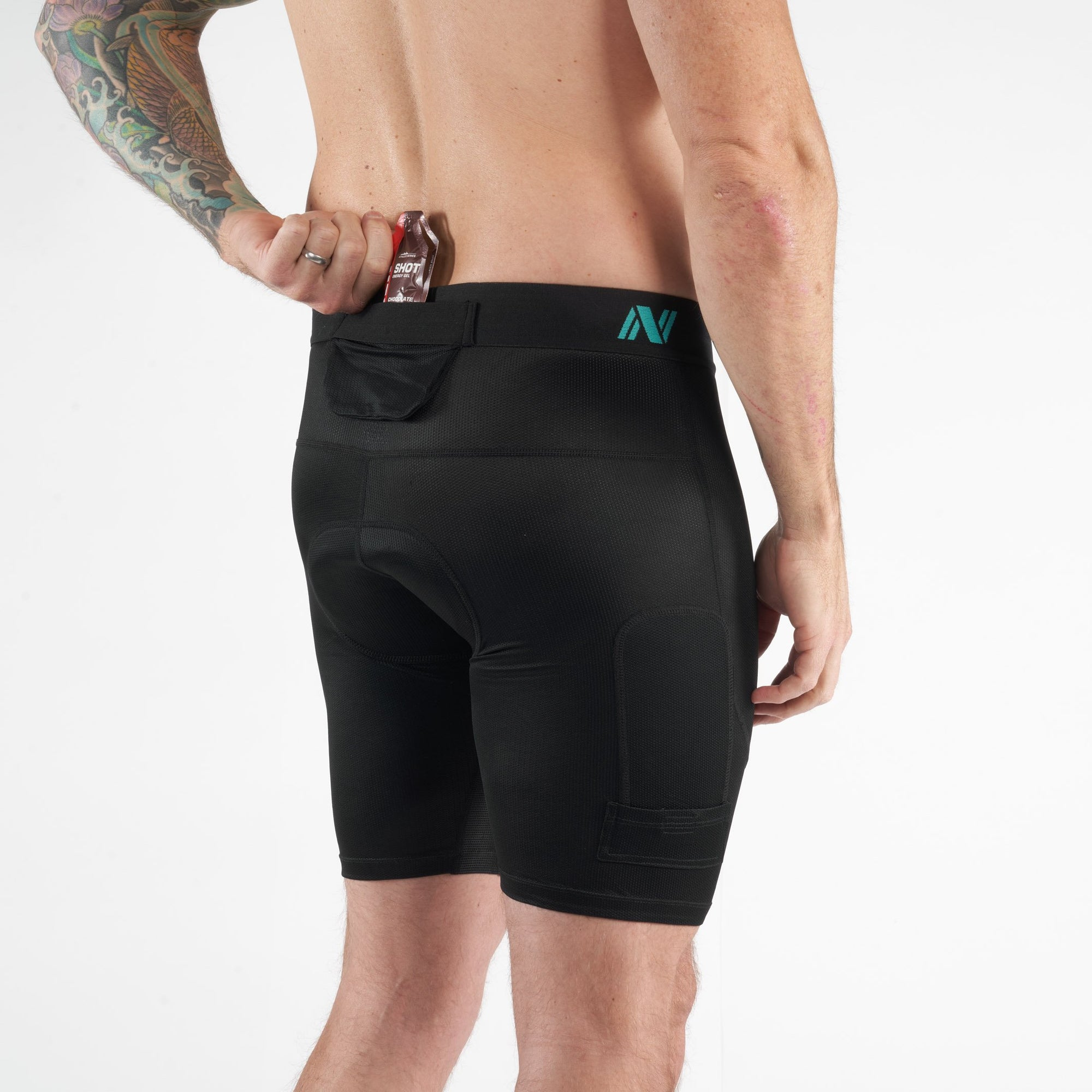Nezium Liner Short - Black (Men's)