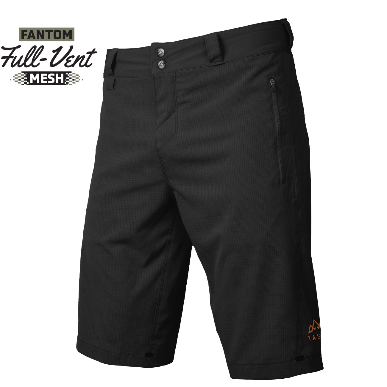 Scout Fantom MTB Shorts - Black