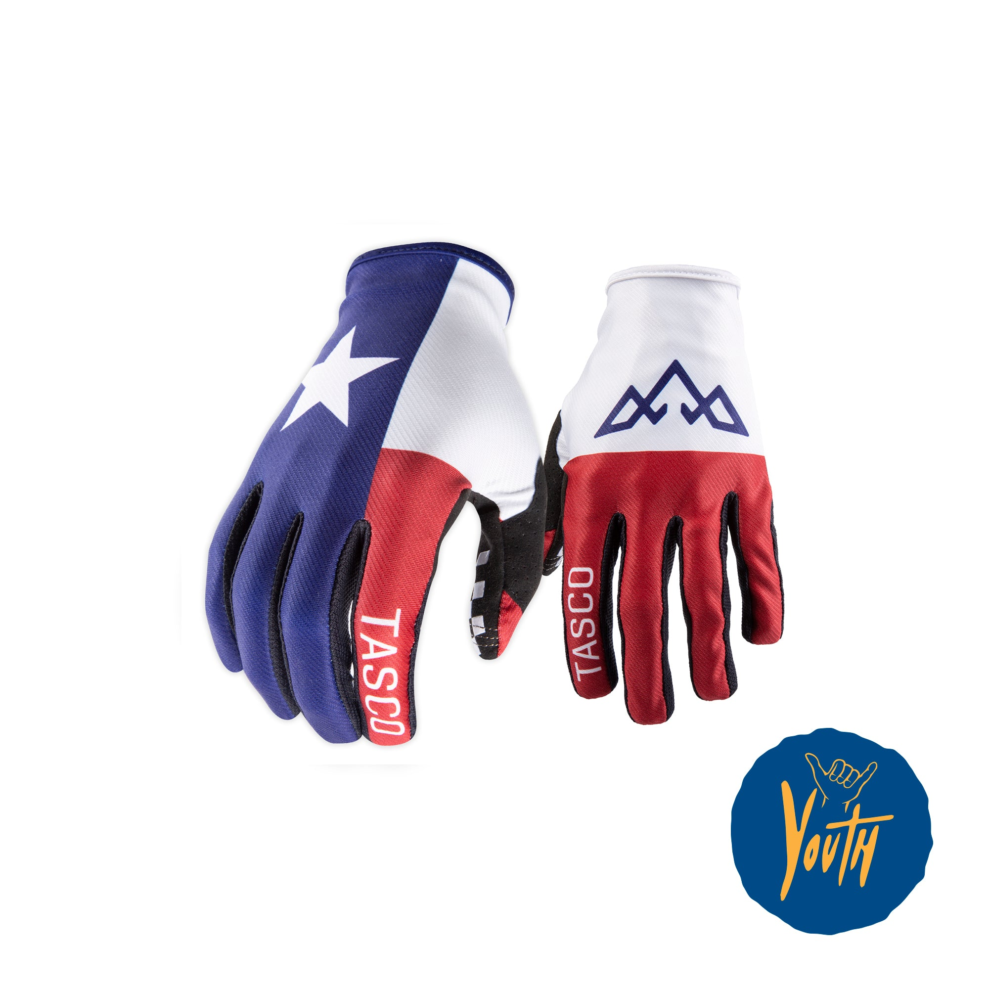 Kids Lone Star Double Digits MTB Gloves