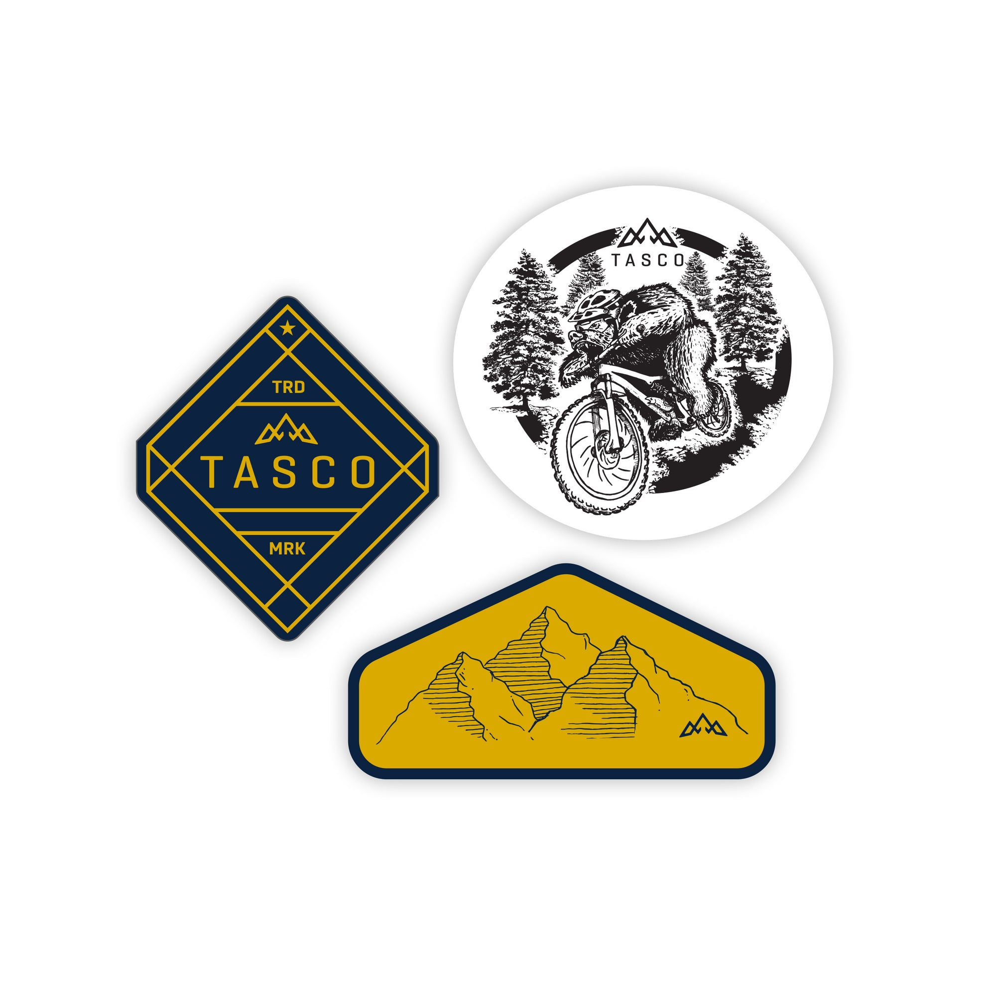 TASCO Patch Set - MTB Lifestyle | TASCO MTB