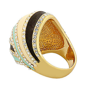 Gold Lined Ring