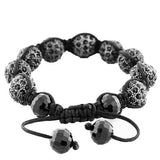 Charcoal Black Beads