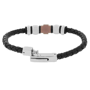 Lux Leather Wristband