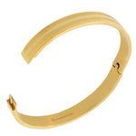 Gold Greek Key Bangle