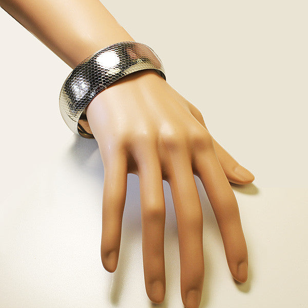 Rounded Steel Bangle