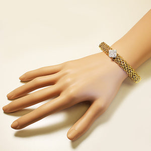 Gold Diamond Bracelet