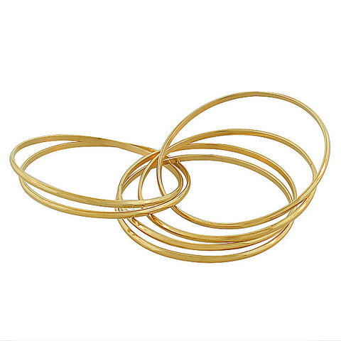 Yellow Egyptian Bangles