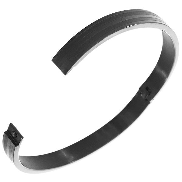Smoky Polished Bangle