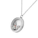 Mom Floating Charm Pendant