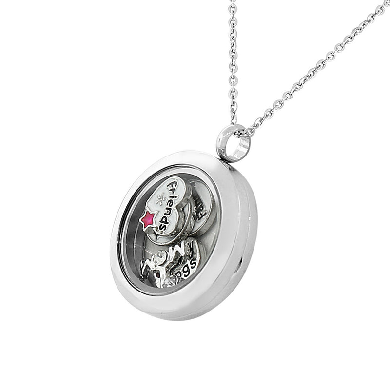 Love Floating Charm Pendant
