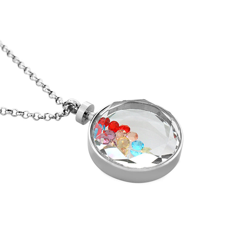 Floating Gems Charm Pendant