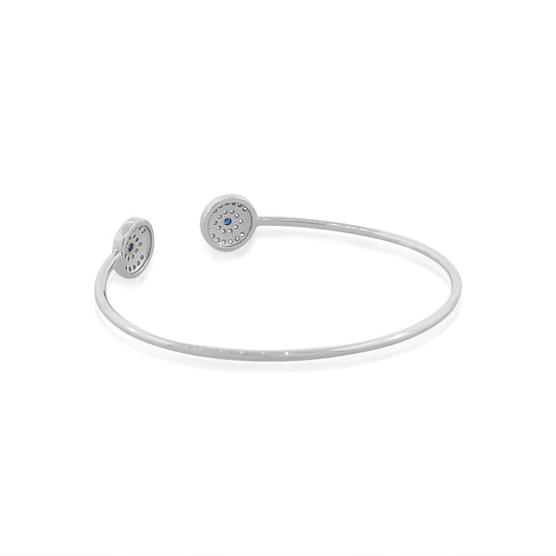 Evil Eye Open Bangle