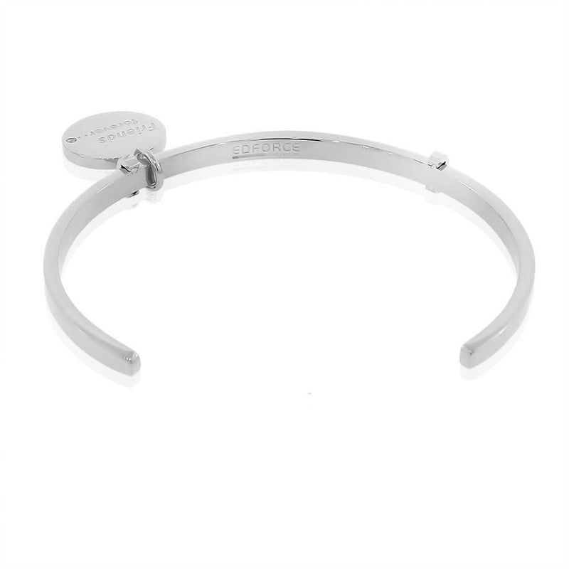 Silver Friends Forever Bangle
