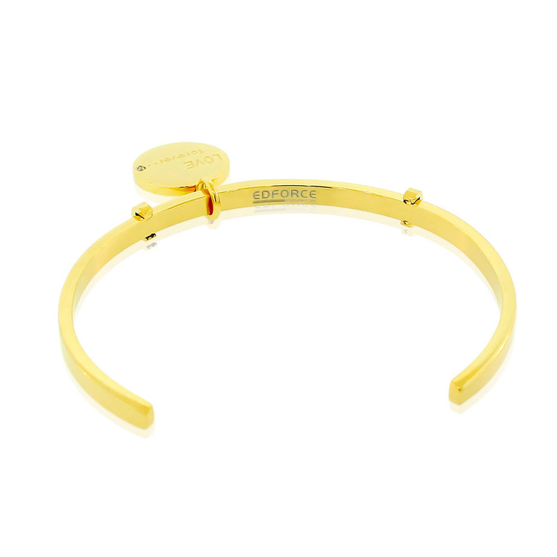 Yellow Friends Forever Bangle