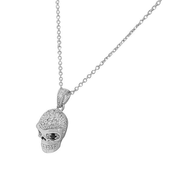 Crystal Eye Skull Pendant