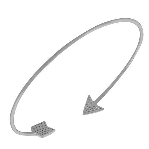 Sparkling Arrow Bracelet