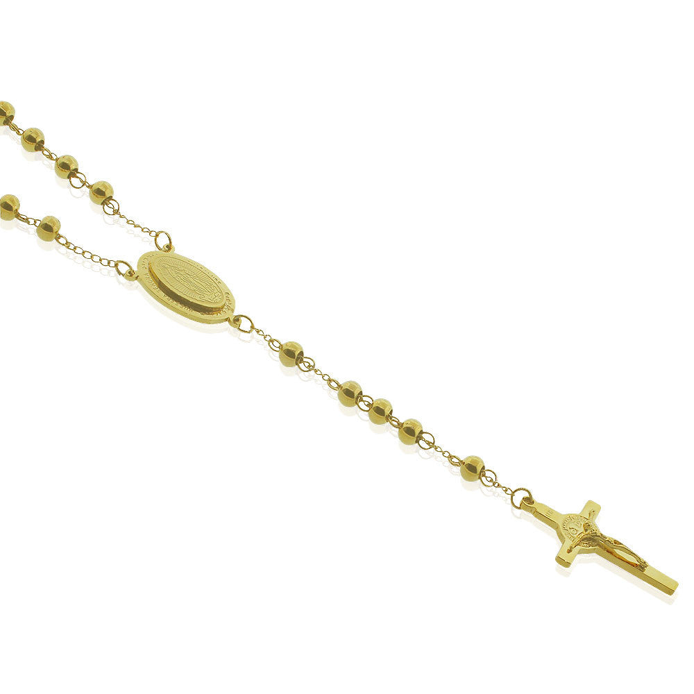 Total Gold Rosary Beads