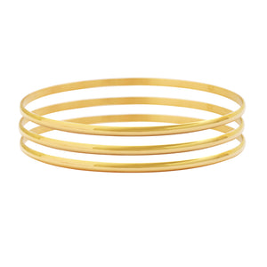 Stackable Bangle Bracelets Set