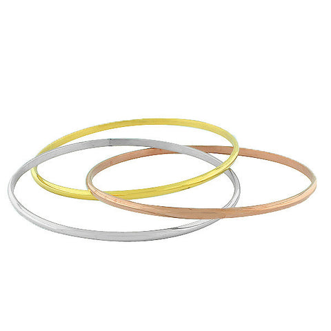 Polished Gold Bangles