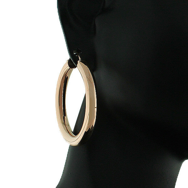 Bronze Heavy Hoops