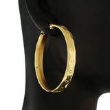 Shining Gold Hoops