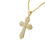 Latin Cross Gold Pendant