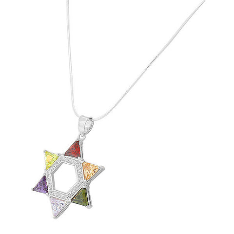 Multi Tip Star Pendant