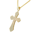 Glimmer Cross Necklace