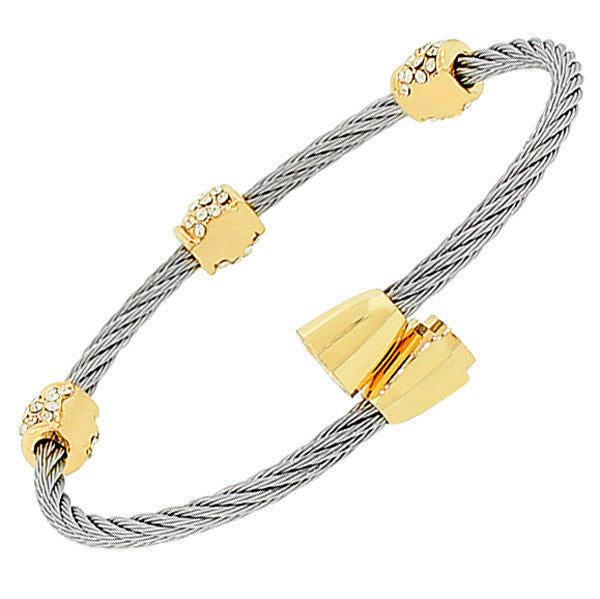 Royal Cable Bangle