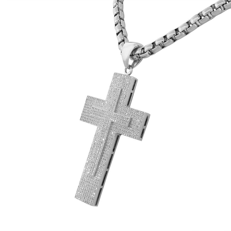 Double Cross Hip Hop Chain