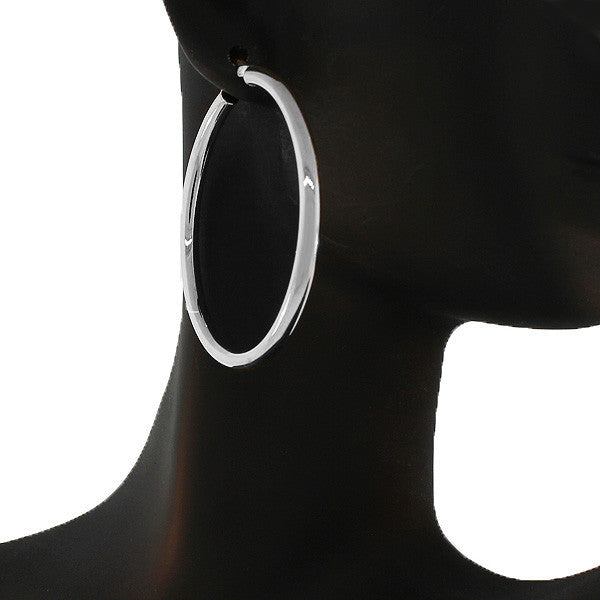 Absolute Silver Hoops