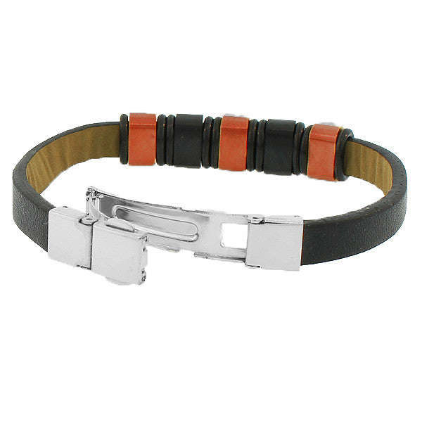 Tiger Leather Clasp