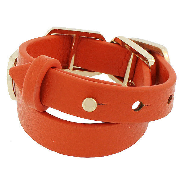 Orange Square Wristband