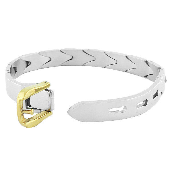 Gold Buckle Men's Clasp