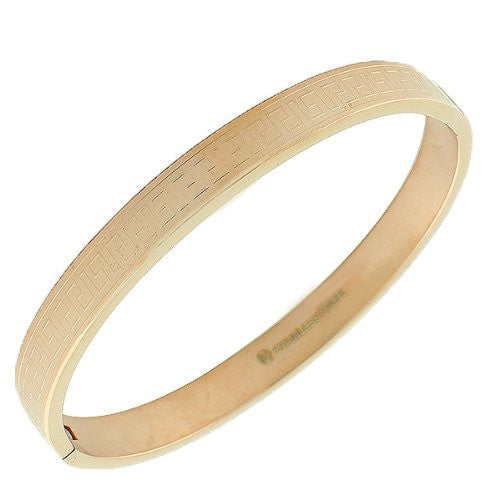 Rosey Greek Bangle