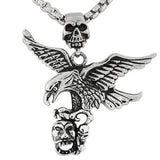 Eagle and Skull Pendant