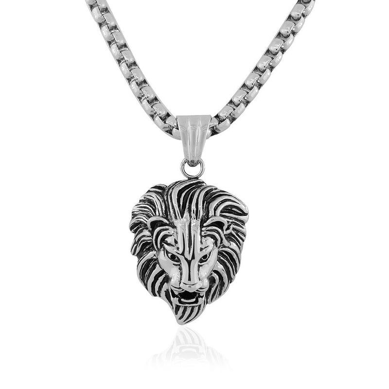 Men's Lion Head Pendant