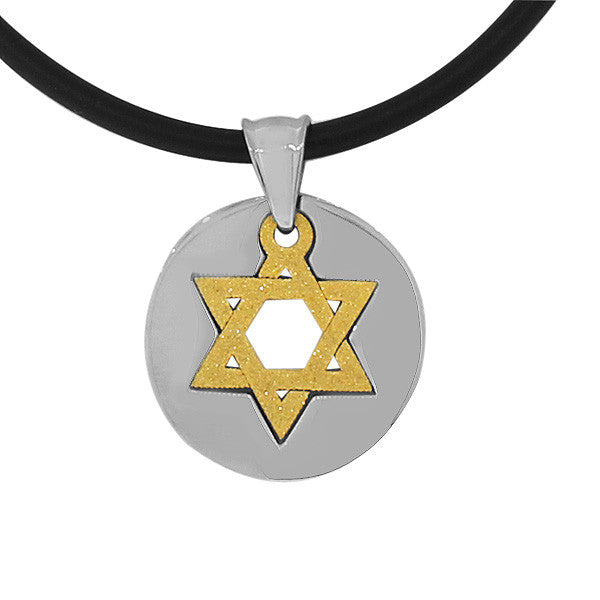 Jewish Star Coin Necklace