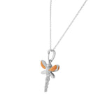 Girls Dragonfly Pendant
