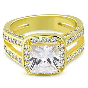 Bright Engagement Ring