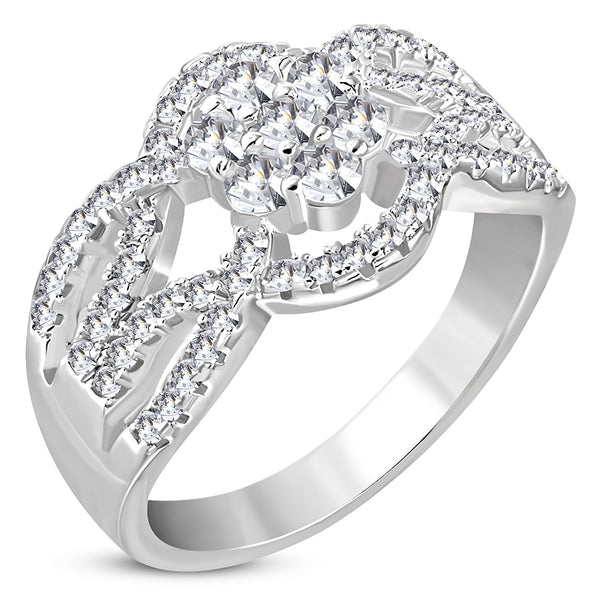 Ice Engagement Ring