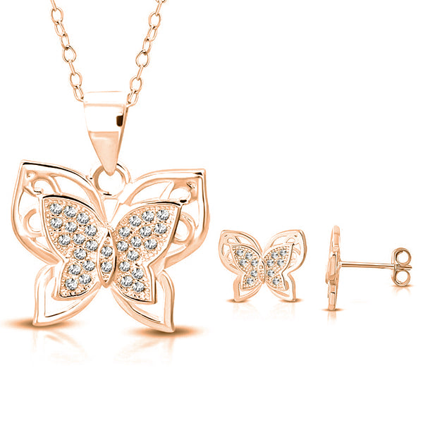 Butterfly Spring Jewelry Set