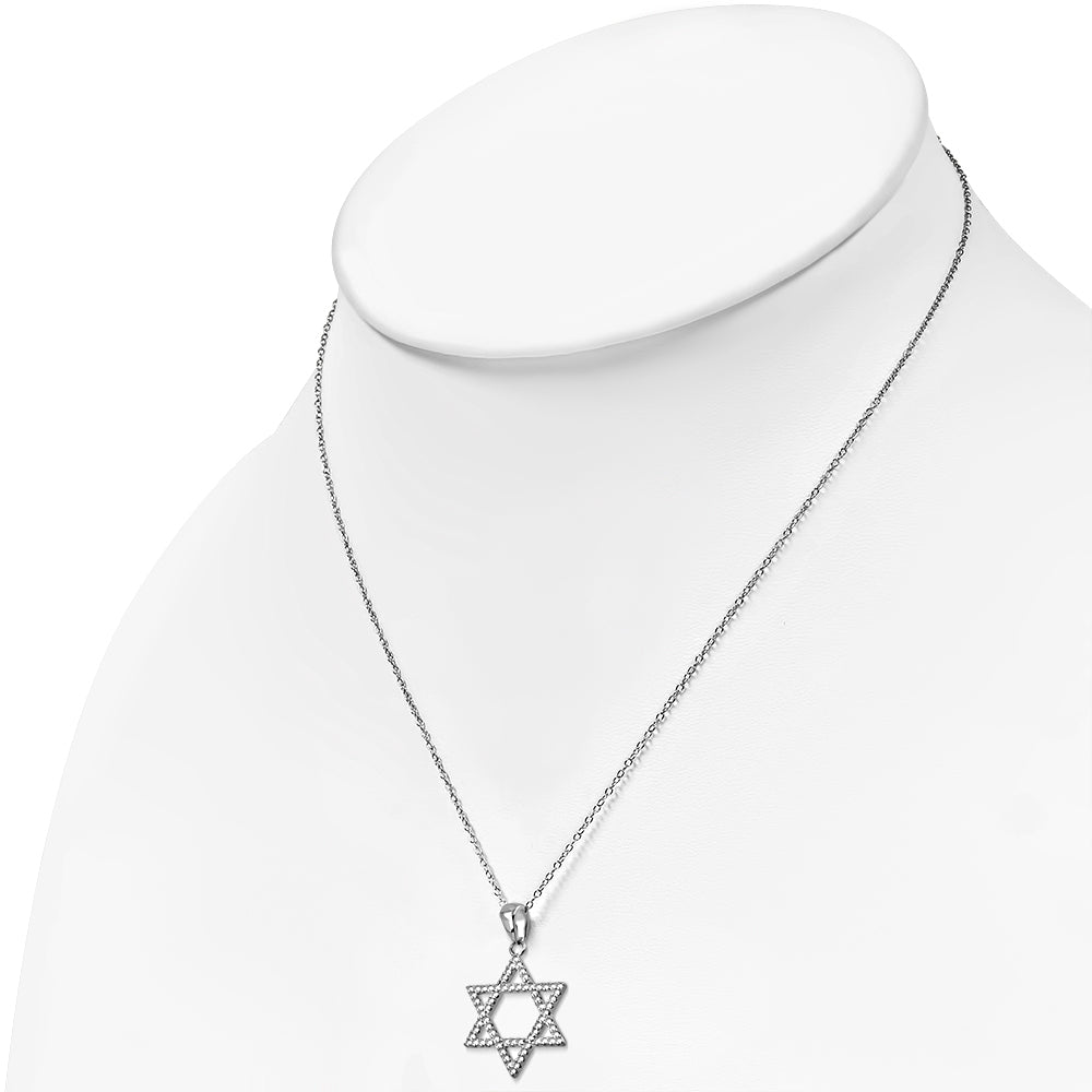 Yellow Star of David Pendant