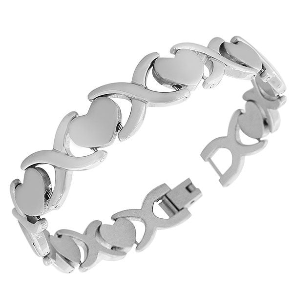 Metal Heart Clasp