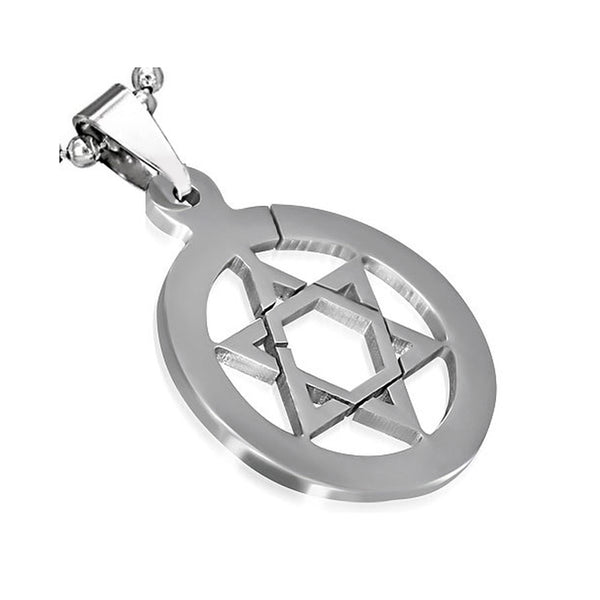 Connected Star of David Pendant