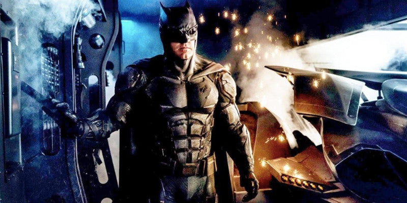 Crazy theory about the new Batman suit!