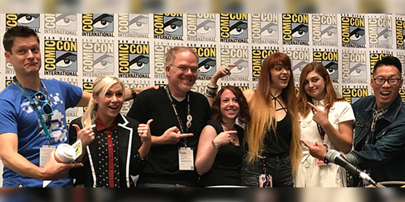 The Business of Geek Fashion panel at Comic-Con